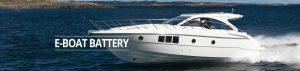 e-boat battery banner