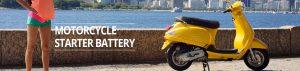 motorcycle starter battery banner